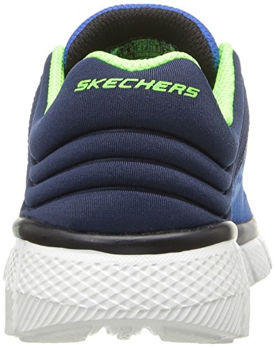 Skechers Equalizer 2.0-Post Season, Scarpe da Ginnastica Basse Bambino Blu (rybl)