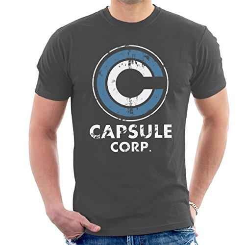 Capsule Vintage White Dragon Ball Z Men's T-Shirt