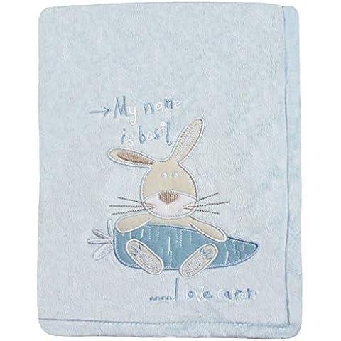 Snuggle bebé conejo bebé manta, Cielo azul, Moses/cuna/cochecito