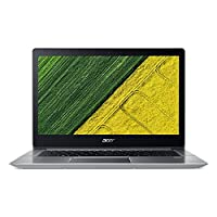 Acer Swift 3 SF314-52-517Z 14inch Laptop with Intel Core i5-8250U, Processor 1.6GHz, 8GB DDR4 RAM, 256GB SSD, Windows 10 (Silver)