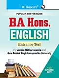 #1: BA Hons. English Entrance Exam Guide for JMI & GGSIPU