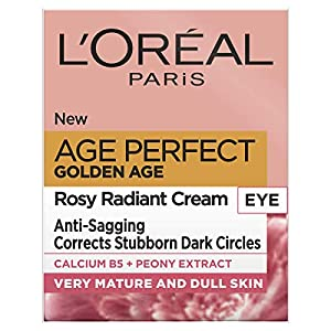 Crema para ojos L'Oreal Paris Age Perfect Golden Age Rosy Radiant, 15 ml