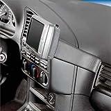 KUDA Navigationskonsole (LHD) für BMW 3er E36 90-98 + Cabr. nicht Compact Mobilia/in Kunstleder schwarz