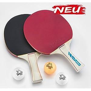 JOOLA Set Tour Tischtennisset, Mehrfarbig