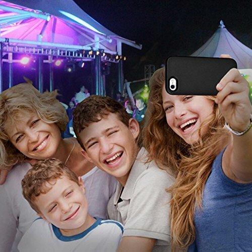Hot Caso selfie Luce iPhone 7 8 Plus, BBLL2017 caso selfie telefono con FaceTime - illuminato telefono cellulare Custodia [ Oro rosa ] per iPhone 7 8 Plus (iPhone 7 8 Plus 5.5inch, Nero) Oro
