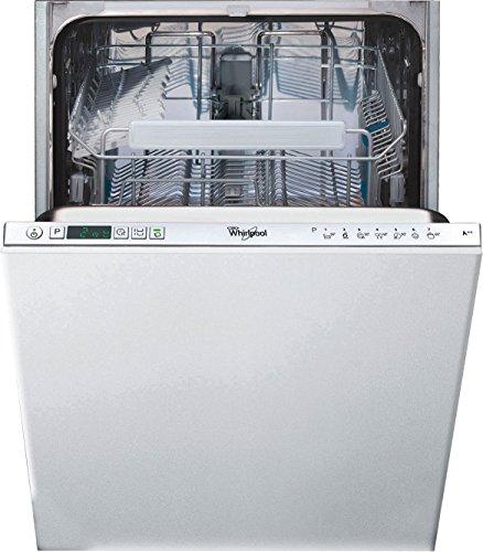 Whirlpool ADG 402 Entièrement intégré 10places A++ lave-vaisselle - lave-vaisselles (Entièrement intégré, Acier inoxydable, boutons, LCD, 1,3 m, 1,55 m)