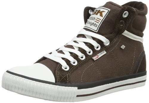 British Knights - Scarpe sportive - Skateboard ECLIPSE HI, Uomo, marrone scuro (Braun (dk.brown 3)), 43