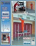 Krause PROTEC XS - Klappgerüst, 2,90 Meter mit 150mm höhenverstellbaren Rollen