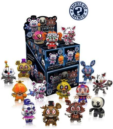 Funko Mystery Minis Five Nights at Freddy's Sister Location and Five Nights  at Freddy's 4 - Figura, 1 figura aleatoria