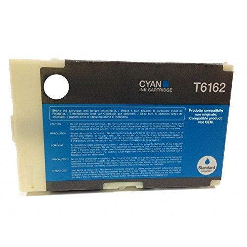 Preisvergleich Produktbild - t6162C Cyan kompatibel für Epson B300B310N B500DN b540dn C13T616200T616253ml Pigment