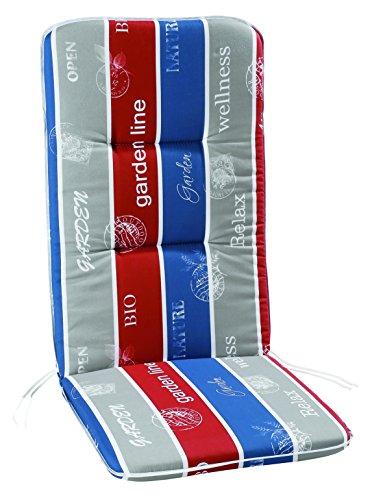 Best 05301663 Multicolore Coussin pour Fauteuil Relax 175 x 50 x 6 cm