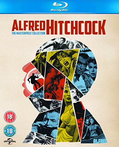 Alfred Hitchcock: The Masterpiece Collection (14 Blu-Ray) [Edizione: Regno Unito]