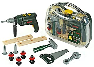 Theo Klein 8416 Bosch Tool Case Transparent with Drill, Toy, Multi-Colored (B00007B8OX) | Amazon Products