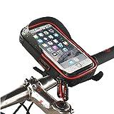 Universal wasserdichte Fahrradhalterung Telefonhalter Fahrradrahmen Tasche Fahrrad Fahrrad Handy Lenker Tasche Tasche für andere kompatible Geräte für Apple, Samsung, Huawei, LG, Android Smartphone