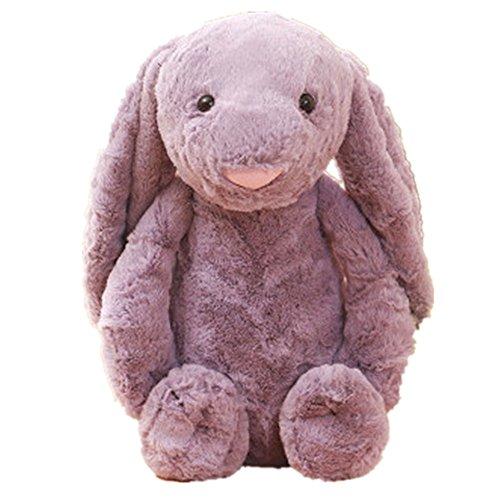 JYSPT Hase Kissen Baby Gefülltes Plüsch Soft Toys Animal Kissen Oster Dekoration Kinder Komfort SCHL (Lila, 40cm) -