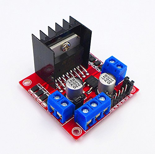 JZK® L298N DC Schrittmotor Fahrer Dual Channel H-Brücke Micro Arduino Steuerplatine Motoren Treiber Modul für Roboter Smart Auto - Dc-motoren Arbeiten