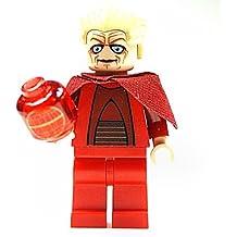 LEGO Star Wars - Figura de Canciller Supremo con holograma de la Estrella de la Muerte