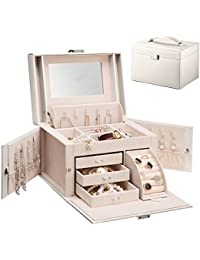 Amazoncouk Compartments Boxes Organisers Accessories Jewellery