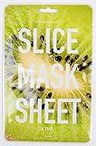 Koco Star Slice Mask Sheet Kiwi Cura della pelle maschera nutriente per pelli particolarmente delicata