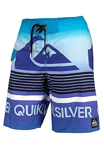 Quiksilver Kinder Jungen-bademode (QUIKSILVER Jungen Badeshorts Badehose Boardshorts (140 (134), Blau))