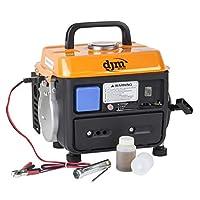 DJM Portable Compact Quiet Suitcase Boat Caravan Camping Petrol Generator 230v 13amp 4