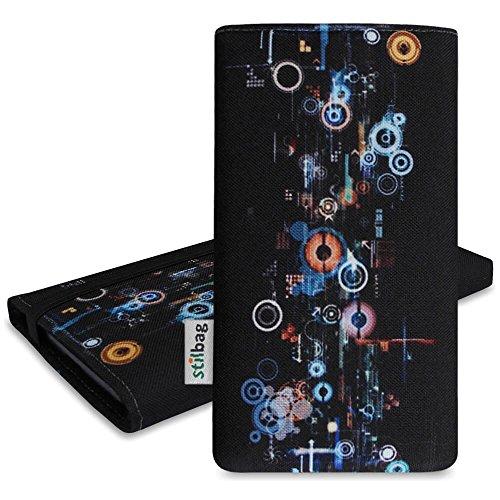 Stilbag Tasche 'MIKA' für Apple iPhone 6s plus - Design: Rose Flowers Industrial