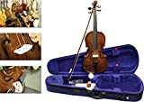 Stentor 1500/I Student II Violin Outfit 1/2 size hand made instrument designed for students