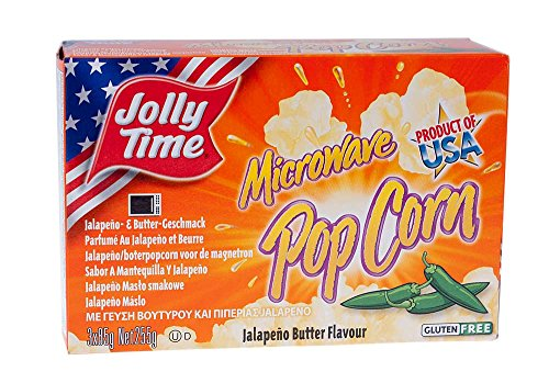 Jolly Time Mikrowellen Popcorn Jalapeno Butter Flavor - Jolly Butter Time Popcorn