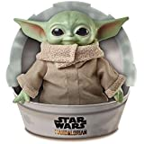 Mattel GWD85 Star Wars Mandalorian The Child Baby Yoda Plysch Figur, 28 cm