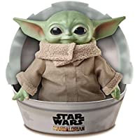 Star Wars The Child Plush Toy, 11-inch Small Yoda-like Soft Figure from The Mandalorian