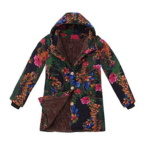 Abrigo Largo Suelto,Modaworld Suéter De Moda Otoño
