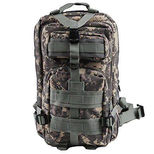 Taktischer Rucksack Militärischer Assault Pack Backpack für Wandern Reisen Trekking Tasche Outdoor Daypack ACU Digital