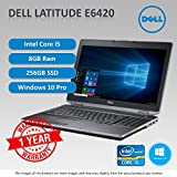 Dell Latitude E6420 Core i5 2.4 - 2.67GHz 8GB 250GB SSD DVD Windows 10 Pro 64Bit sold and warranted by Easy buy (CRS-UK) Registered Trade Mark No.UK00003100631