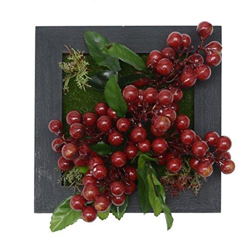 kunstpflanze-wandbehang-kunstblumen-kunstliche-zierpflanze-in-quadrat-holzrahmen-fur-heim-dekro-591-