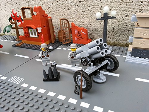 Modbrix 2182 - Bausteine Nebelwerfer 41 Stellung inkl. custom Wehrmacht Soldaten aus original Lego© Teilen thumbnail