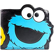 Cartera de Designs UK Sesame Street Cookie Monster Multicolor