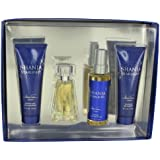 Shania Starlight By Stetson Gift Set -- 1.7 Oz Eau De Toilette Spray 4 Oz Body Mist 4 Oz Shimmer Body Lotion 4...
