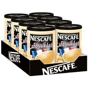 Nescafè café au lait, café, instantané, boîte café 250 g, 8 x 11800196
