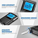 Alcohol Tester, [Newest Version] VicTsing Professional Breathalyzer with 6 Units Modes, Portable High-precision Digital Breath Analyzer with Testing Result Recording Function and Extra 5 Mouthpieces Bild 4