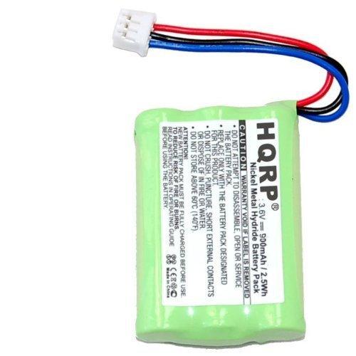 HQRP Batería 900 mAh Ni-Mh para telefonos inalámbricos BANG & OLUFSEN BEOCOM 6000, BEOCOM 1; 3HR-AAAU, 70AAAH3BMXZ, T373 2.4GHz Reemplazo para telefonos inalámbricos