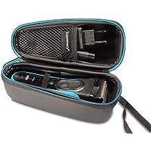 Supremery Bolsa para Braun serie 3 340s-4 390cc-4 320s-4 3030s 3090cc 3040s rasurador eléctrico Caja Envoltura protectora Estuche Bolsa de transporte