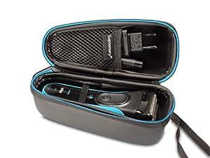 Supremery Tasche für Braun Series 3 3040s 3010BT 3020 3030s 300s, Braun Series 5 5030s 5147s WF2s 5090cc 5050cc, Braun Series 7 7898cc 7840s 799cc 790cc Rasierer Case Schutz-Hülle Etui Tragetasche