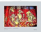 Photographics: Graffiti ? Lissabon 2018: Kalender 2018 (KUNTH Wandkalender Grau / PHOTOGRAPHICS) -