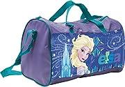 Bellissimo borsone da viaggio dei Famosissimi personaggi di Elsa e Anna della favola di Frozen del Mondo Disney.