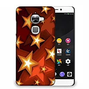 Snoogg Browny Stars Designer Protective Phone Back Case Cover For Samsung Galaxy J1