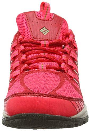 Columbia VENTRAILIA RAZOR OUTDRY, Chaussures de Randonnée Basses femme Rouge(412)