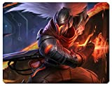 "1 X SUPER BIG/THICKEN League of Legends LOL Mousepad The Unforgiven ""Yasuo"" Skin A"