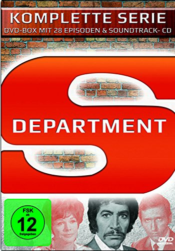 Department S - Die komplette Serie (+Soundtrack-CD) (8 DVDs)