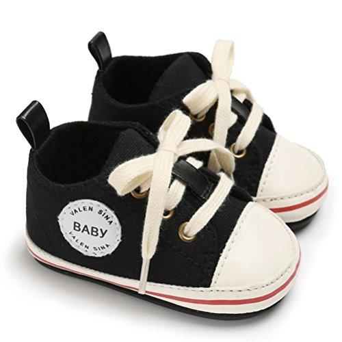 rutsch Schwarz 1 Anti Kleinkind Segeltuch Neugeborene Jungen Turnschuhe Soft Baby Igemy Mädchen Paar Krippe Sole Schuhe v4xqwZ4dpH
