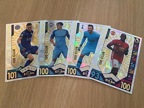 Preisvergleich Produktbild Match Attax EPL 2016/2017 Full Set of 100 CLUBS by Match Attax